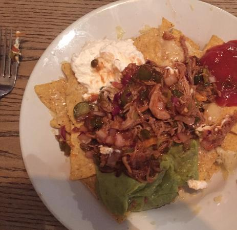 Kidlington, UK: Nachos (pulled pork)