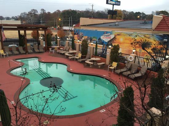 pool picture of days inn by wyndham memphis at graceland memphis rh tripadvisor com