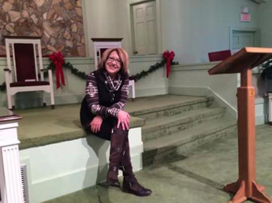 Plains, GA: Me at the church