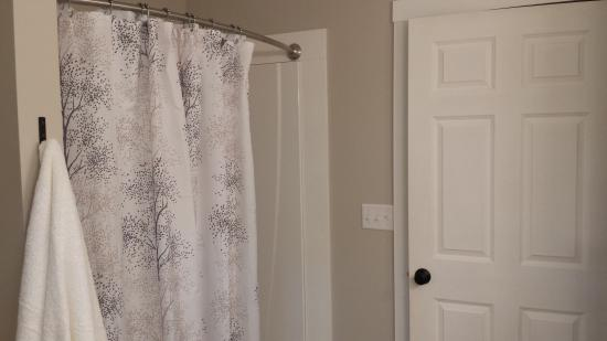 West Glover, VT: New renovated guest bathroom.