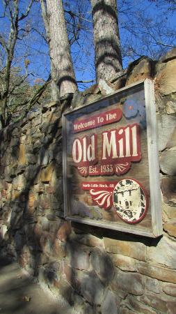The Old Mill: Signage outside