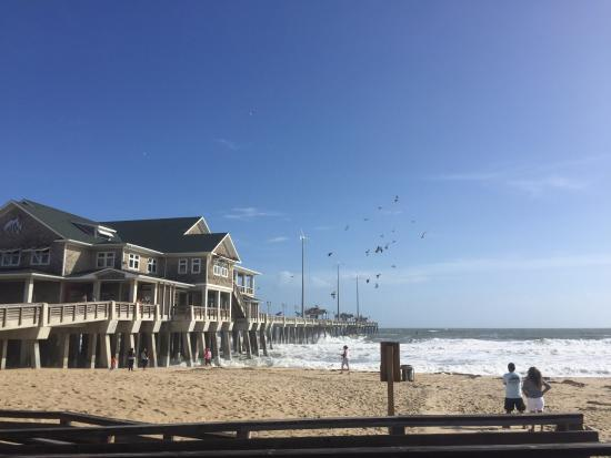 Hello picture of jennette 39 s pier nags head tripadvisor for Jennette s fishing pier