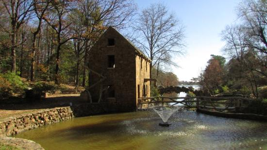The Old Mill: View to the lake