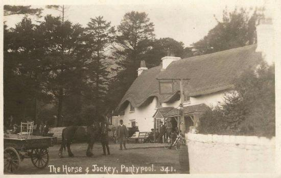 Pontypool, UK: Horse and Jockey