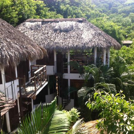 كاباناز بويزا: Vista desde la habitacion