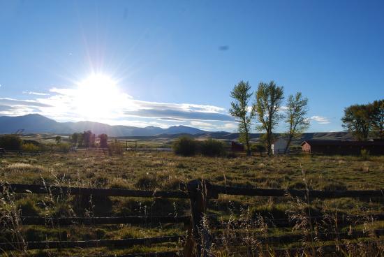 Deer Lodge, MT: Gorgeous view