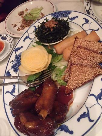 Chung Ying Garden: Lovely food