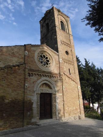 Pianella, Italy: Die Kirche Santa Maria Maggiore von außen