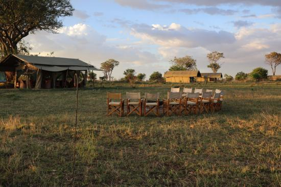 Ubuntu Camp, Asilia Africa: Happy Hour Spot