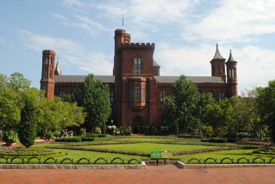 Smithsonian Institution Building: From the back