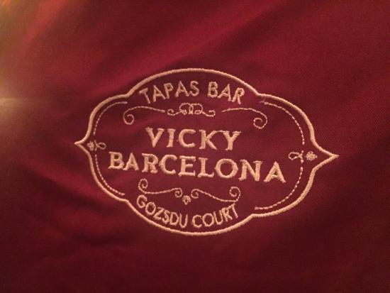 Vicky Barcelona: Logo of restaurant