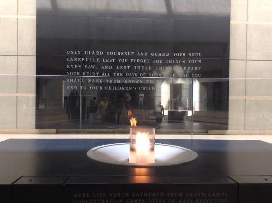 Foyer Museum Quotes : Quote outside bild von united states holocaust memorial