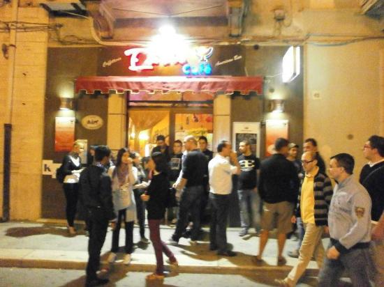 Entrada do Bar