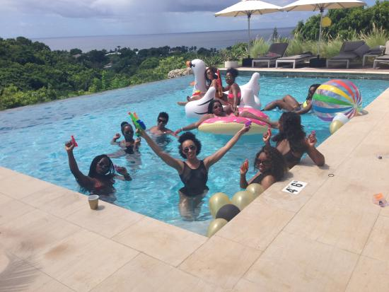 Lower Carlton, Barbados: Pool Party Everyday!