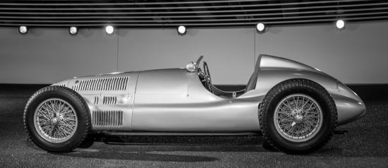 Marvelous Mercedes Benz Museum: Silver Arrow