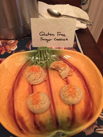 Stephens City, VA: Gluten free cookies upon arrival