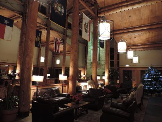 Lied Lodge & Conference Center: Lobby