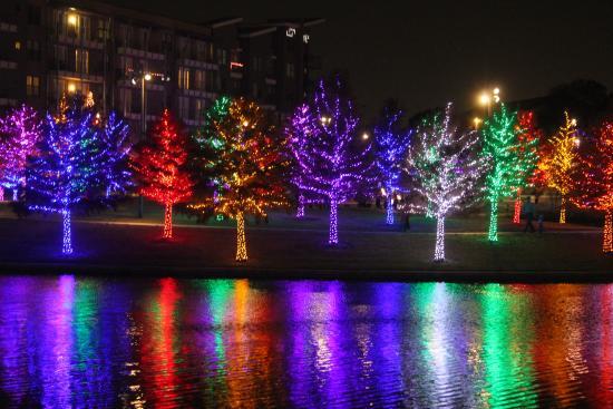 Light Show 2 Picture Of Vitruvian Park Addison