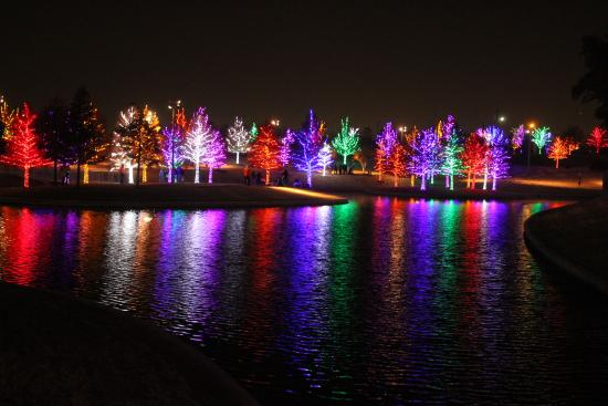 Addison, TX: Light show 1
