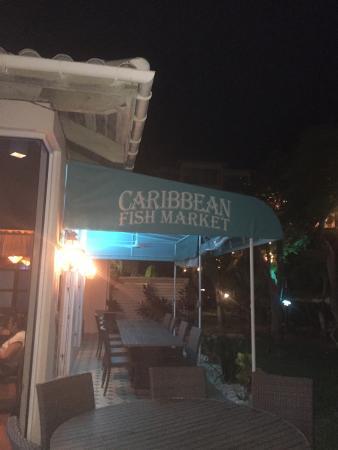 Caribbean Fish Market Photo