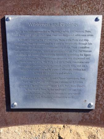 Essex, كاليفورنيا: Info Wilderness and Geology