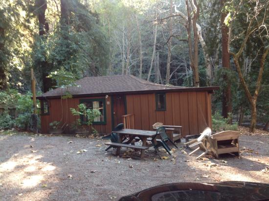 Cabin 9 picture of ripplewood resort big sur tripadvisor for Big sur cabin