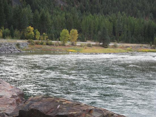 Saint Regis, MT: clark fork river on the way to harwood house(25min away)