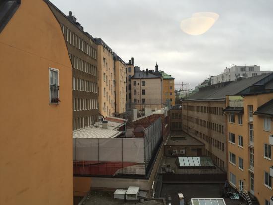 BEST WESTERN Kom Hotel Stockholm: Вид из окна