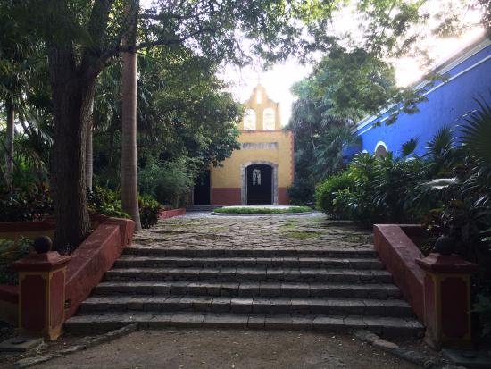 Tixkokob, Mexico: Часовня