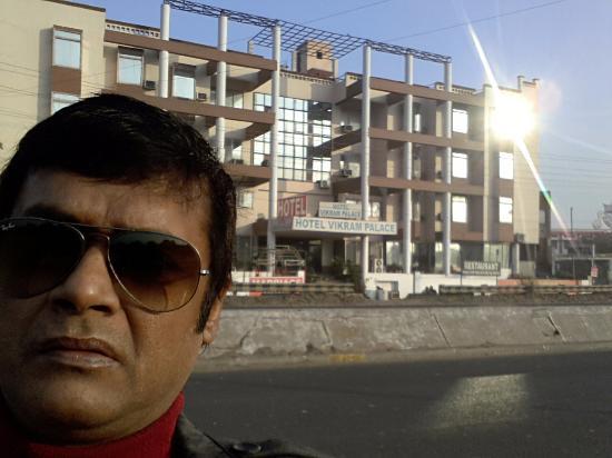 Vikram Palace Hotel outside