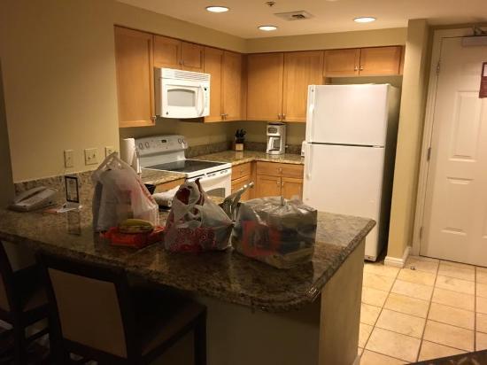 Kitchen Picture Of Wyndham Grand Desert Las Vegas Tripadvisor