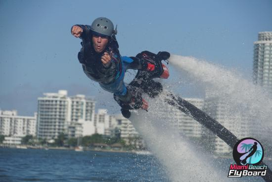 Flybrothers James Bond Flyboarding In Miami Beach