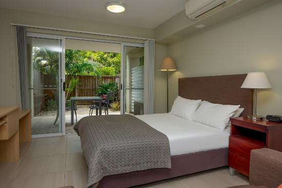 Bogangar, Australia: Ground floor Studio Garden Apartment