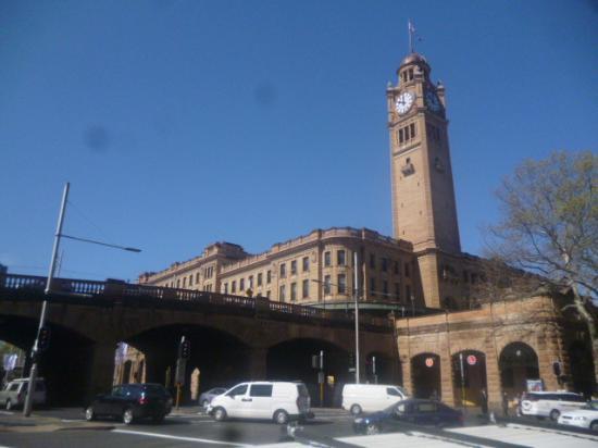Central Railway Station: Central Station from Elizabeth St