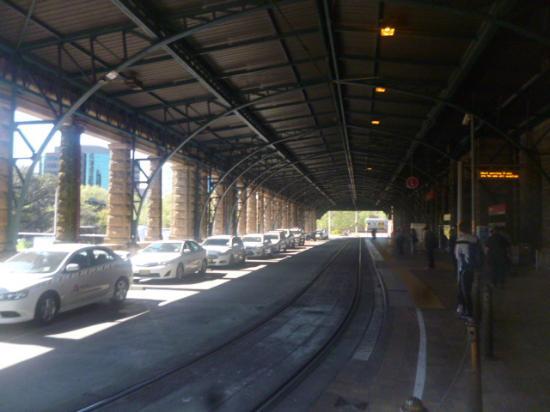 Central Railway Station: A Suburban Platform