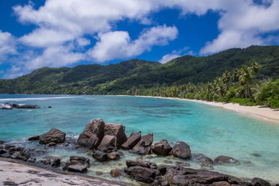 Chalets d'Anse Forbans: beach Anse forbans