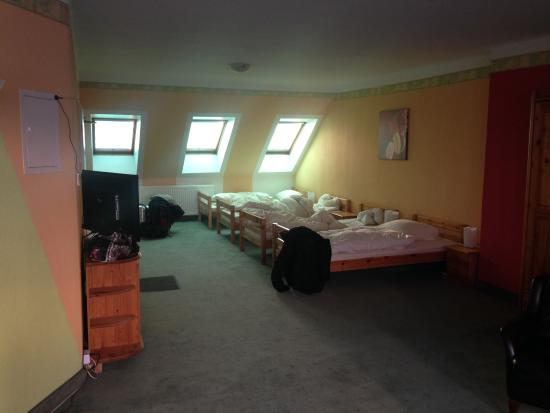 City Apartment Hotel Hamburg: 4-Bett-Zimmer im 2.OG