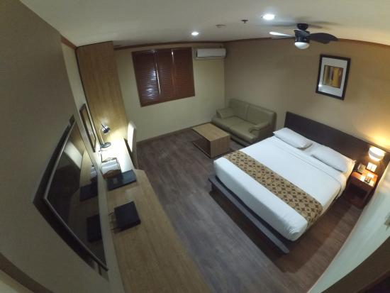 DG Grami Hotel: Renovated deluxe room