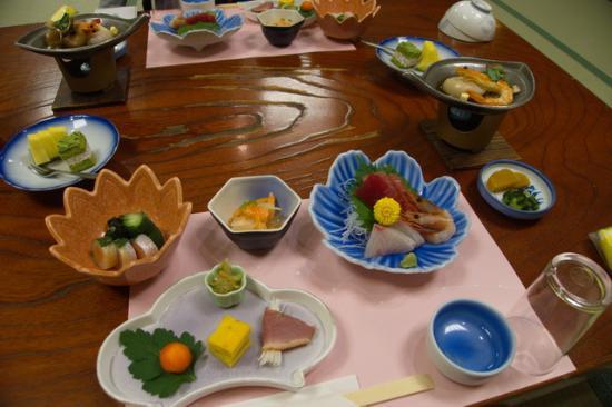 Shirako-machi, Japon : 夕食少なめプラン