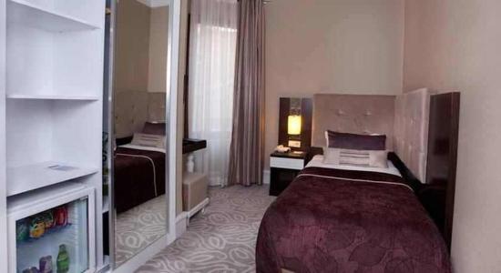 City Center Hotel: Small Single Room