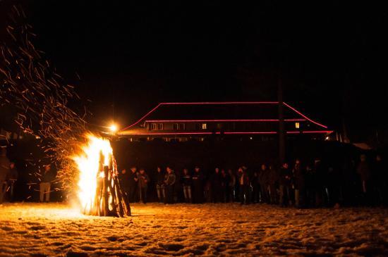 Harghita Bai, Ρουμανία: Optional campfire
