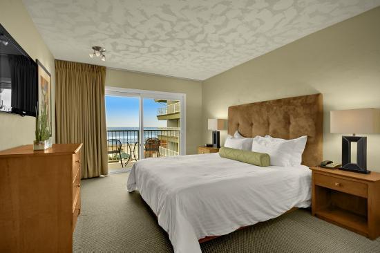 Surfer Beach Hotel: Ocean View King