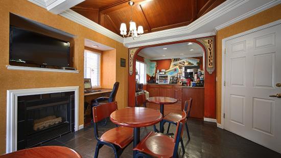 Менло-Парк, Калифорния: Breakfast Area