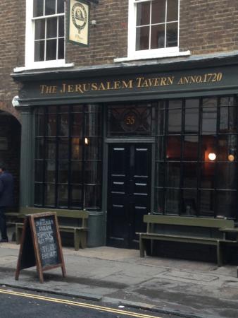Jerusalem Tavern from the outside