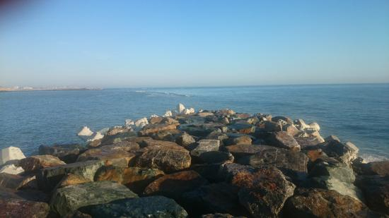 Constanta Beach: amazing blue!