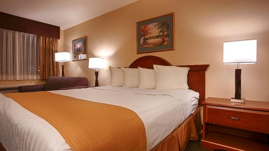 Grass Valley, Californië: King Guest Room