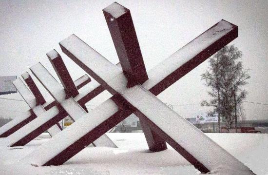 Монумент защитникам Москвы «Ежи»