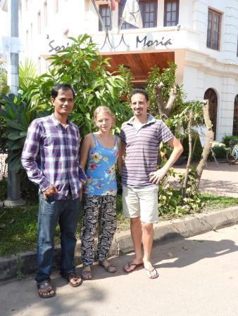 Soria Moria Boutique Hotel: Photo in front of Soria Moria