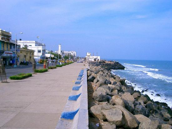 Image result for photos of the promenade pondicherry