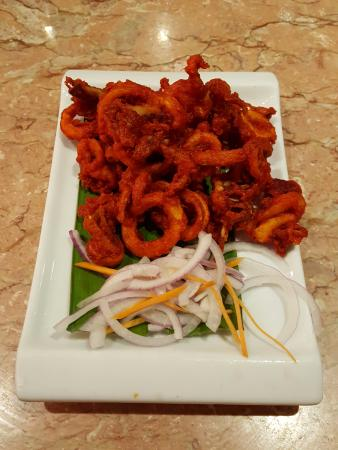 Fried squid picture of 7 spice indian cuisine johor for 7 spice indian cuisine